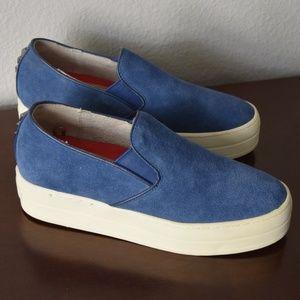Sketchers Platform Leather Uplift Shoes Size 7